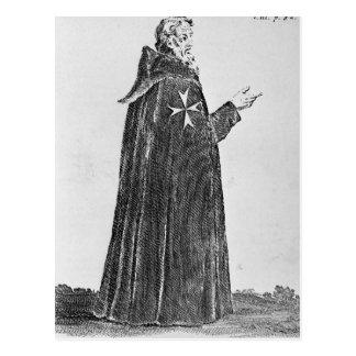 Knight Hospitaller in the original habit Postcard