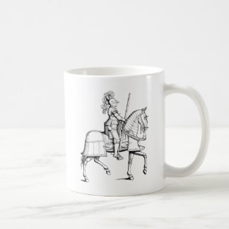 Knight in Armor Coffee Mug