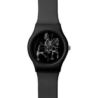 Knight in Armor Wrist Watch