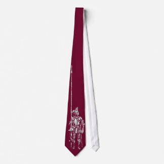 Knight in Armour Blood Oath Red Tie