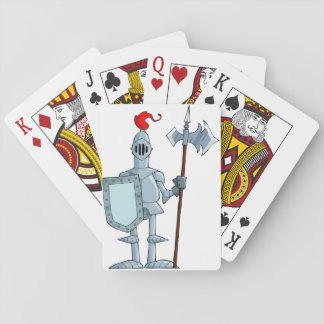 Knight In Armour Playing Cards