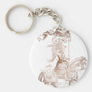 Knight in Shining Armor Keychain