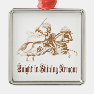 knight in shining armor ornament