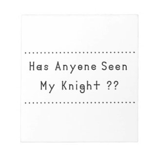 Knight Notepad