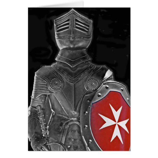 Knight of St John, Malta (1) Card