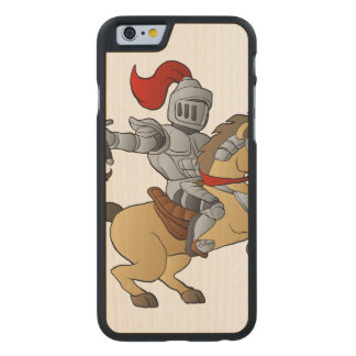 Knight on Horse Carved® Maple iPhone 6 Slim Case