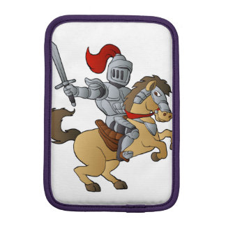 Knight on Horse iPad Mini Sleeves