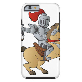 Knight on Horse Tough iPhone 6 Case