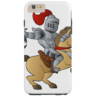 Knight on Horse Tough iPhone 6 Plus Case