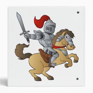 Knight on Horse Vinyl Binders