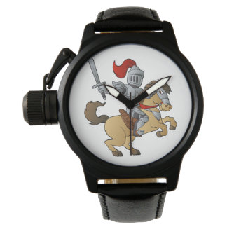 Knight on Horse Wristwatch