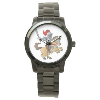 Knight on Horse Wristwatches