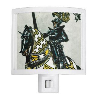 Knight on Horseback Nightlight Nite Light