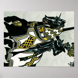 Knight On Horseback poster