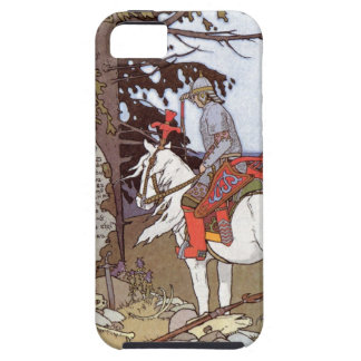Knight on White Horse Case For The iPhone 5