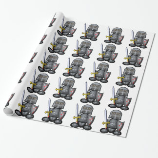 Knight (plain) wrapping paper