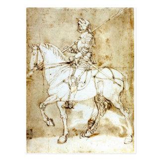 knight postcard