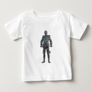 Knight Standing and Looking Forward Baby T-Shirt