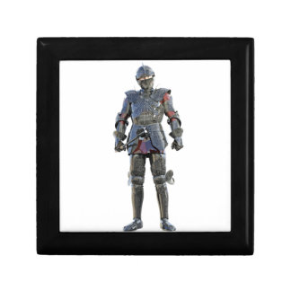 Knight Standing and Looking Forward Gift Box