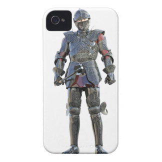 Knight Standing and Looking Forward iPhone 4 Case-Mate Cases