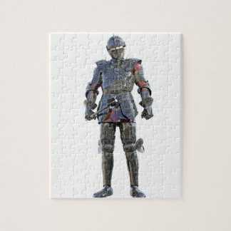 Knight Standing and Looking Forward Jigsaw Puzzle