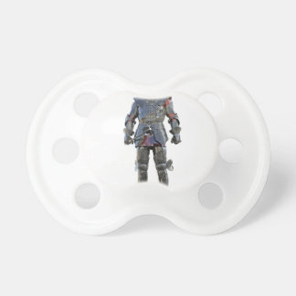 Knight Standing and Looking Forward Pacifier