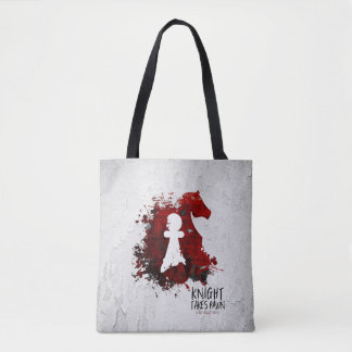 Knight Takes Pawn by Martha Sweeney Tote Bag