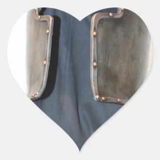 Knight Templar Heart Sticker