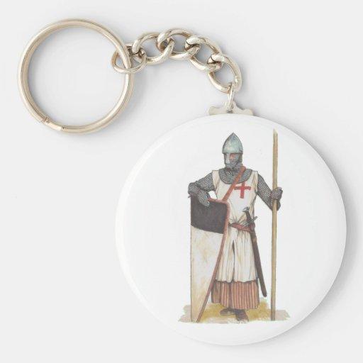 Knight Templar Key Chains