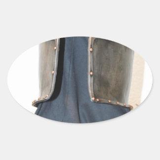 Knight Templar Oval Sticker