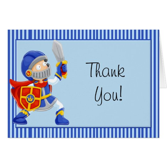 Knight Thank You Card