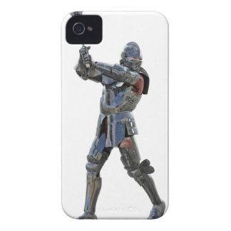 Knight walking to the right with mace iPhone 4 Case-Mate case