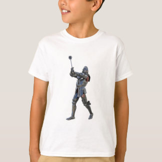Knight walking to the right with mace T-Shirt