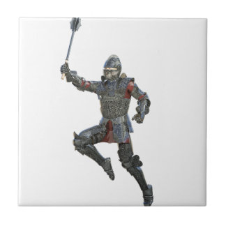 Knight with Mace Leaping to The Right Tile