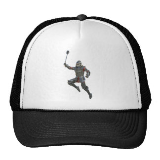 Knight with Mace Leaping to The Right Trucker Hat