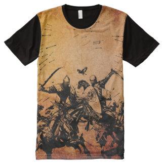 KNIGHTS AT WARE All-Over-Print T-Shirt