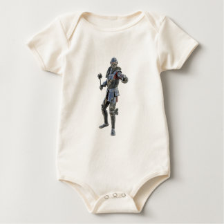 Knights Challenge to His Opponent Baby Bodysuit