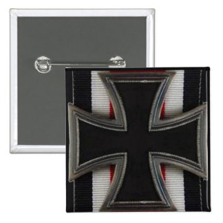 Knight's Cross 2 Inch Square Button