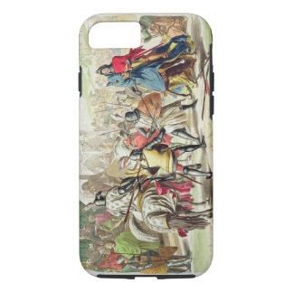 Knights Duelling on Foot in a Tournament, plate 1 iPhone 7 Case