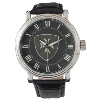 Knights Hospitaller Cross, Distressed Wrist Watches