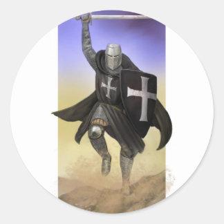Knights Hospitaller Round Sticker