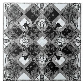 Knight's House Ceramic Photo Tile