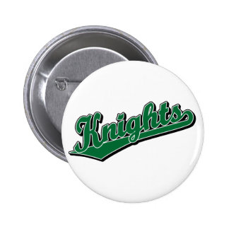 Knights in Green 2 Inch Round Button