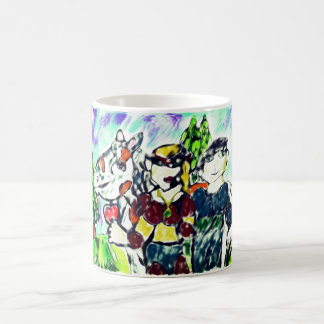 knights love story magic mug