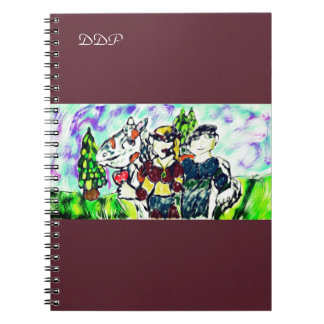 knights love story notebooks