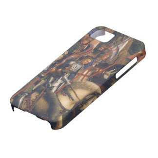 Knights of Christ (Ghent Altarpiece), Jan van Eyck iPhone 5 Cases