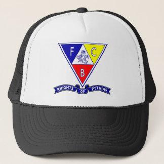 Knights of Pythias banner cap