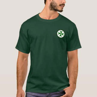 Knights of Saint Lazarus Round Seal Shirt