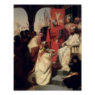 Knights of the Order of St. John of Jerusalem Poster