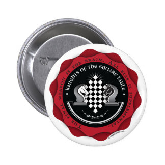 Knights of the Square Table 2 Inch Round Button
